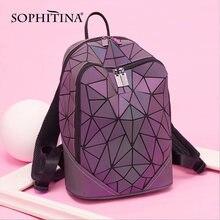 Модные женские сумки sophitina на молнии с металлическими кнопками