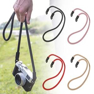 Нейлоновая веревка для камеры плечевой шейный ремень походный ремень для цифровой камеры Leica Canon Nikon NK-Shopping