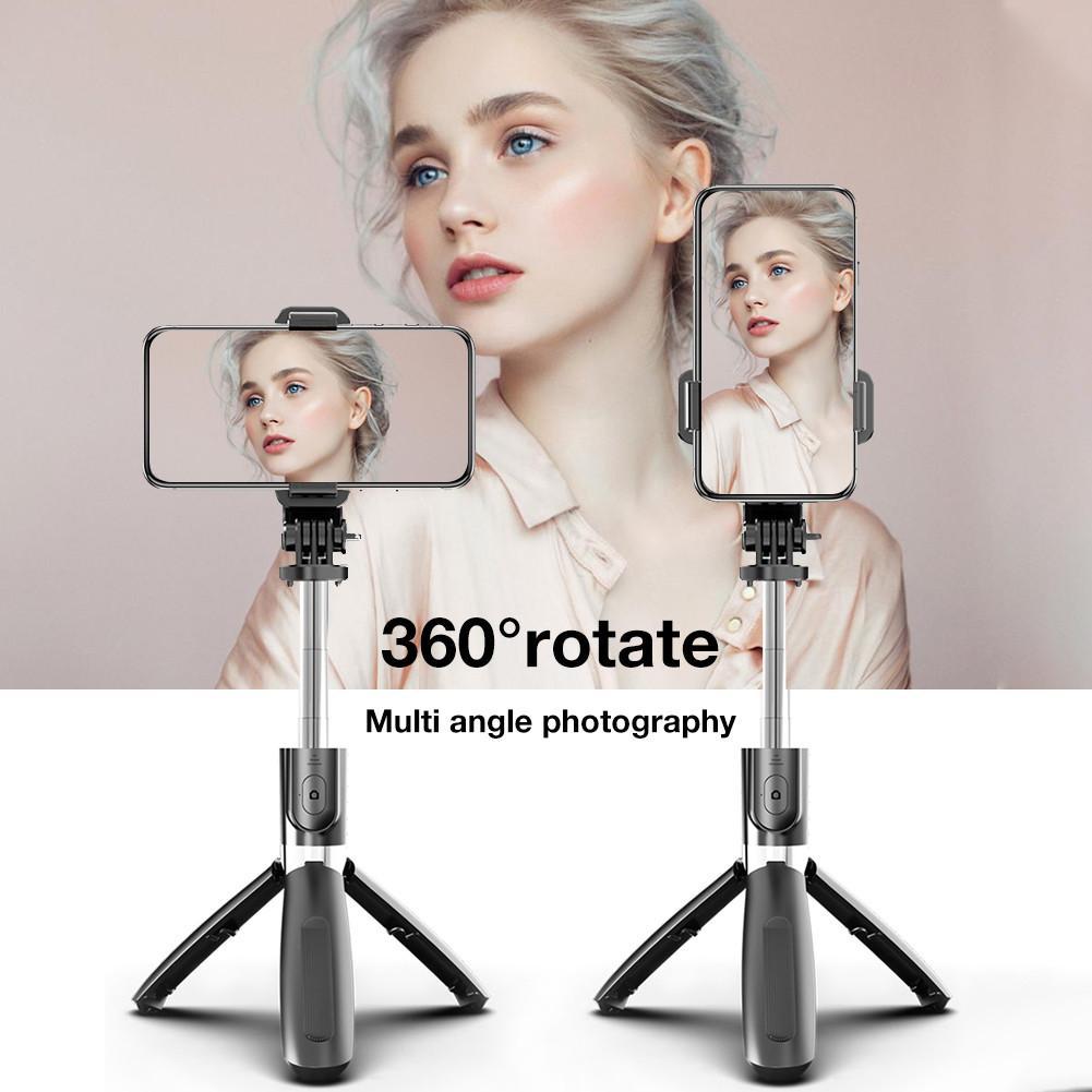 Bluetooth mudah alih baru 5.0 selfie stick alat kawalan jauh tripod - Kamera dan foto - Foto 6