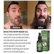 Men's Beard Growth Oil Beard Set Organic Hair Bio Vegetable pour Beard Care Beard Set Beard Receive Bart J2P6