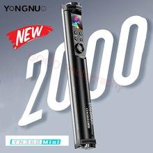 Yongnuo YN360 MINI Tube Stick Light 2700K 7500K RGB Colorful Bi color 2600mAh Photography Lighting LED RGB Soft Light Handheld