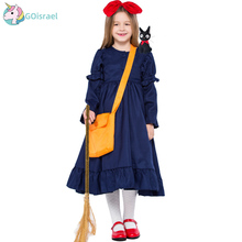 Halloween witch home urgency Kiki COS clothing adult children Japanese little witch Witch parent-child printio little witch academia
