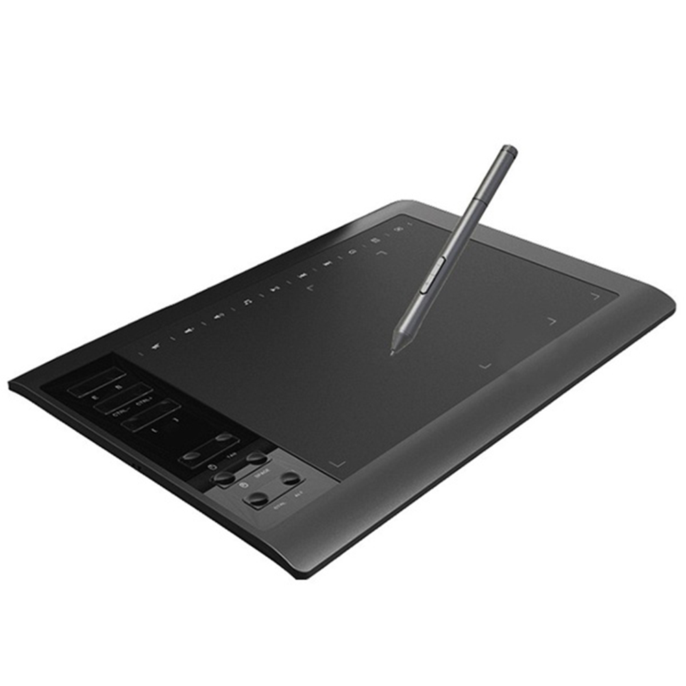 Digital Tablet  Quick Reading Electronic Drawing Board 10 X 6 Inches  Large Screen Pressure Sensing  Graphic  Drawing Tablet