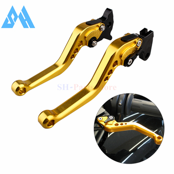Gold Short Brake Clutch Levers For Honda CB300R CBR250R CBR300R CB300F CBR500R CB500F CB500X GROM MSX125 NSR50 Z125 monkey bike image