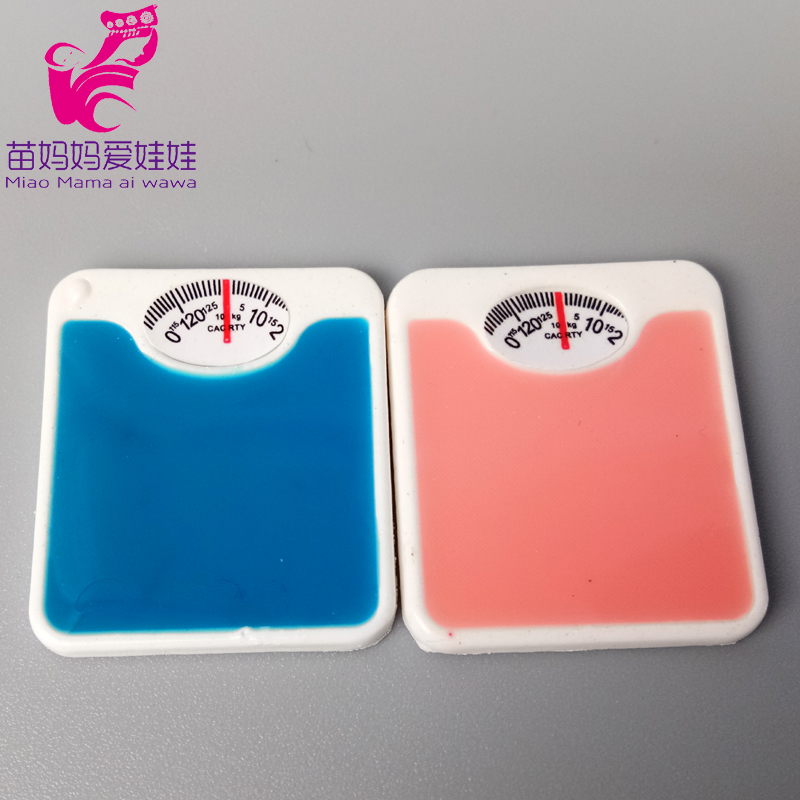 Mini Weighing Scale For Barbie Blythe Doll Use Mini Table Candle Light For 1/8 1/12 Ob11 BJD Doll House Diy Decoration