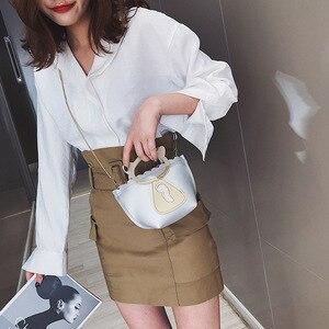 Image 3 - 개별 고양이 체인 미니 캐주얼 가방 한국어 스타일의 새로운 스타일의 단일 어깨 싱글 어깨 가방.
