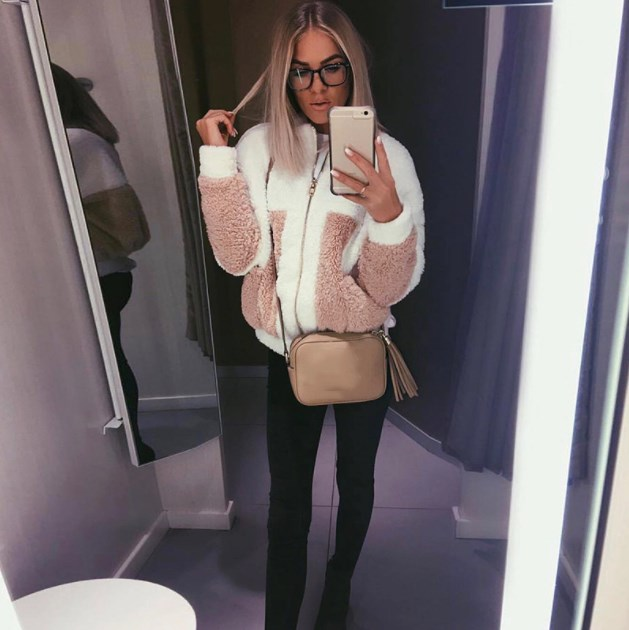 Patchwork Soft Coat Women Autumn   Basic     Jacket   Coat Female Fluffy Teddy Coat Outwear