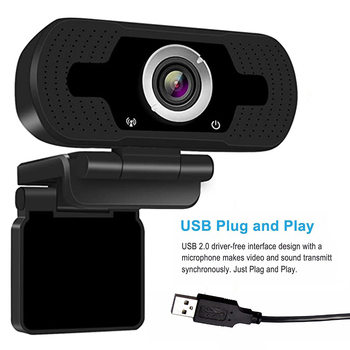 1080P USB Webcam Web Camera Built-in Stereo Microphone Computer Camera Full HD Skype Video Call For PC Laptop Live Equipment