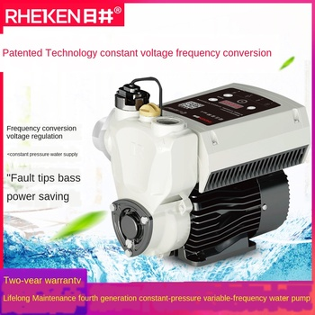 Water pump constant pressure frequency conversion automatic booster pump mute home hotel villa tap water pipe self-priming pump household automatic booster pump water heater tap water mute pressurized water pump