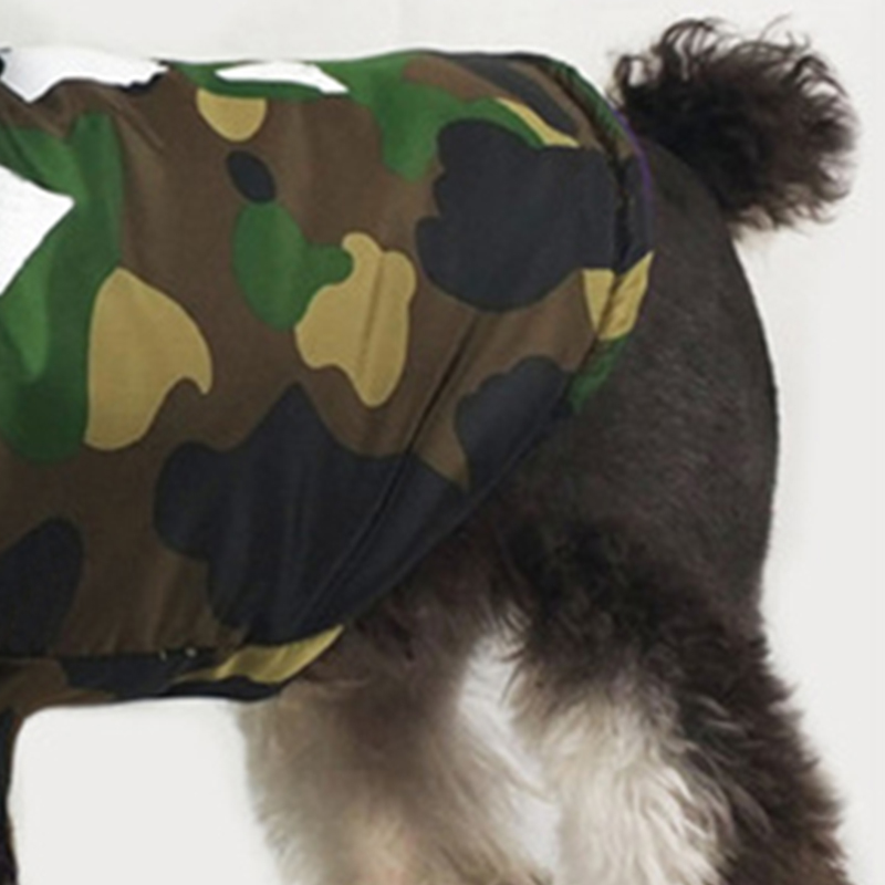 Image 5 - Thicken Winter Camouflage Coat Pet Dog Winter Clothes for Small  Dogs Pets Clothing French Bulldog Yorkshire Pug Fashion JacketDog Coats