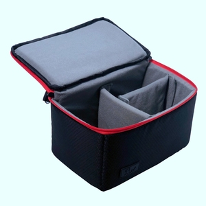 Image 5 - Advanced Diamond Lattice Waterproof DSLR Camera Bag Photography Soft Padded Insert Inner Handbag Camcorder Carry Case For Canon