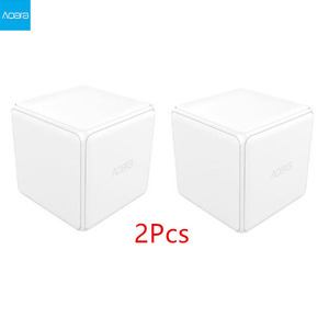 Image 1 - Aqara Magic Cube Controller Zigbee Version Support Upgrade Gateway Smart Home Mijia Device Wireless MiHome APP C2#