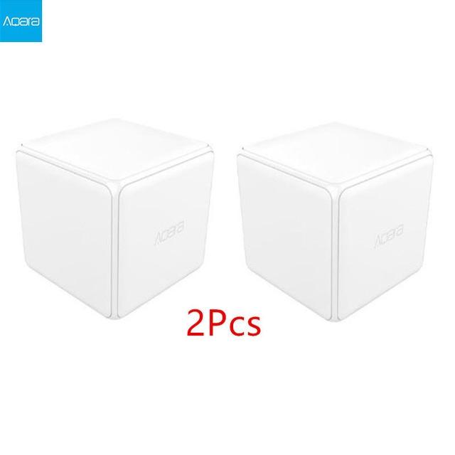 Aqara Magic Cube Controller Zigbee Version Support Upgrade Gateway Smart Home Mijia Device Wireless MiHome APP C2#