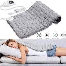 6 nível de fisioterapia elétrica almofada aquecimento cobertor rápido relaxar temperatura muscular escurecimento úmido seco terapia calor pescoço abdômen