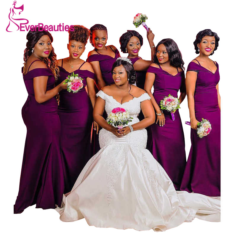 Purple Bridesmaid Dresses Party Dress Vestido De Fiesta Wedding Guest Dress Vestido Madrinha Sukienka Vestidos De Festa