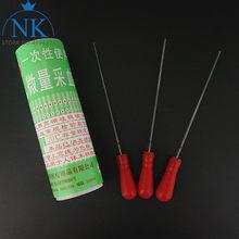 Pipeta de vidrio desechable para laboratorio, tubo de vidrio para recolección de microsangre, capilar, 20ul, 40ul, 60ul, 80ul, 100ul, 1 caja (400 uds.)