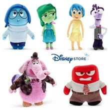 Disney Movie Inside Out Plush Toy  Joy Anger Sadness BingBong Disgust And Fear Collection Kids Gift 5pcs