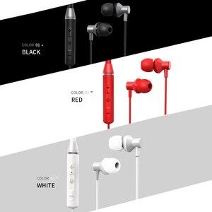 Image 4 - Lenovo Bluetooth אוזניות HE05 אלחוטי Bluetooth אוזניות BT5.0 ספורט Sweatproof אוזניות IPX5 עם מיקרופון רעש ביטול ארפ