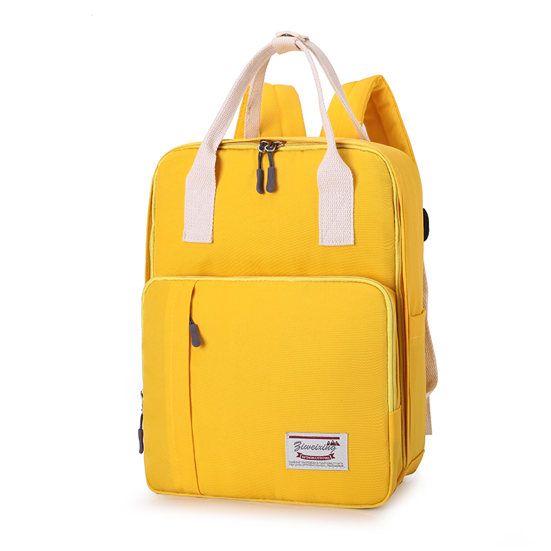 Fashion  Baby Nappy Bags Diaper Bag Mummy Maternity Backpack Outdoor Multifunction  Baby Care Bag For Mom