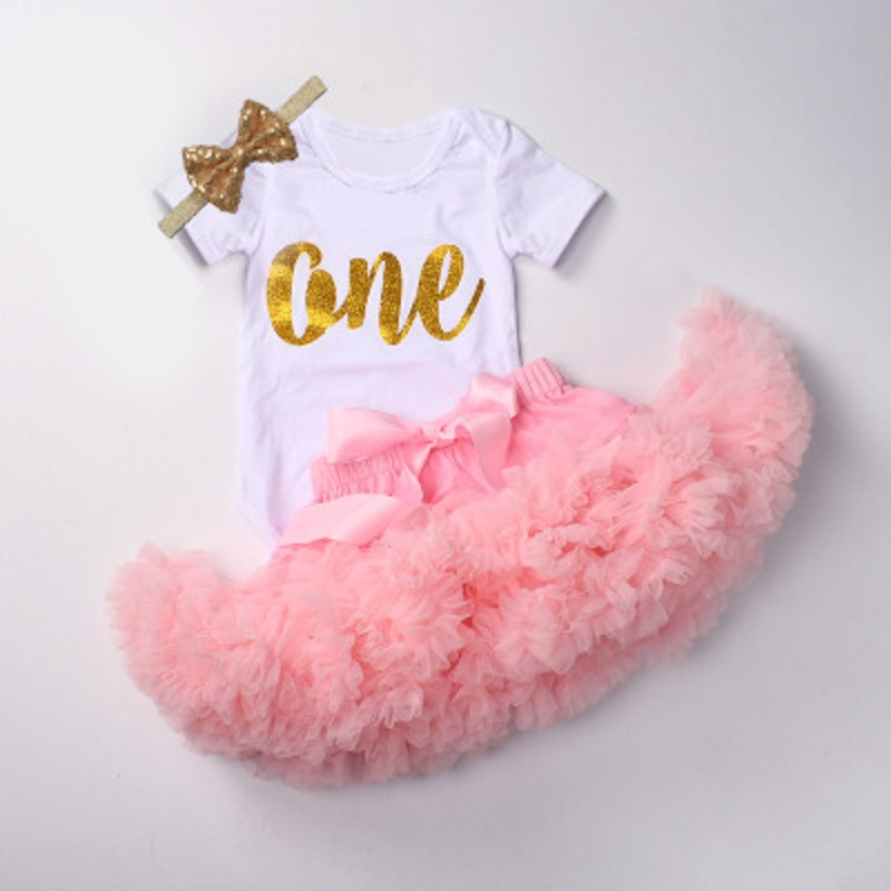Hello World Print Newborn Baby Romper + Lace Tutu Princess Skirt Fashion  Baby Onesie 1st Birthday Party Infant Toddler Clothes