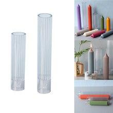 2020 длинная пластиковая форма в виде свечи большая цилиндрическая