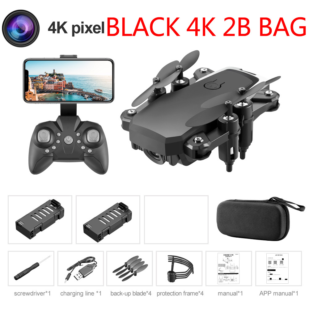 Black 4K 2B Bag