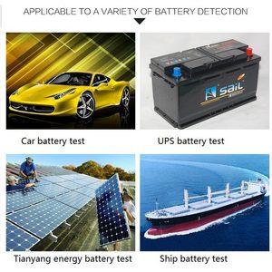 Image 4 - Car Battery Tester With Print 12V 24V Analyzer Lead acid auto CCA IEC EN DIN JIS For Portable Printer Diagnostic Tool DY3015C