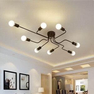 Image 1 - 現代のledシーリングシャンデリア照明リビングルームベッドルームシャンデリアクリエイティブホーム照明器具送料無料