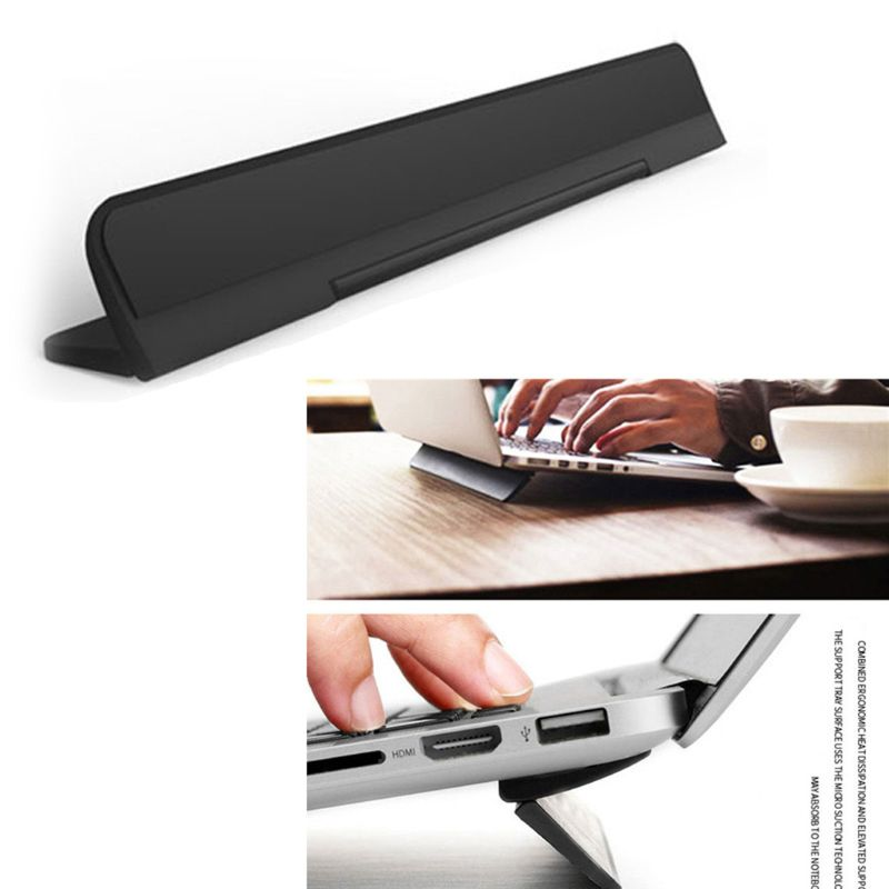 Ergonomic Laptop Stand Bracket For Macbook Air 13.3 Pro Portable Adjustable Computer Lapdesk Office PC Notebook Riser  Cooling C