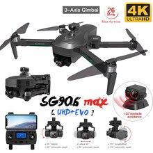SG906 Max/906 pro2 Drone 4k HD Mechanische Gimbal Kamera 5G Wifi Gps System Unterstützt TF Karte drohnen Entfernung 1,2 km Flug 26 Min