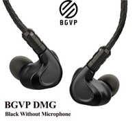 BGVP DMG 2DD + 4BA controladores Hybrid es la oreja auriculares de Metal Monitor de alta fidelidad con Cable de Audio MMCX desmon