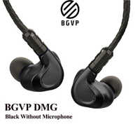 BGVP DMG 2DD + 4BA controladores híbridos en la oreja auriculares métal moniteur de alta fidélité avec câble Audio MMCX desmon