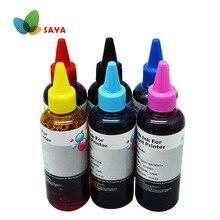 Drucker Refill Tinte für HP 363 177 02 801 Refill Patrone und CISS Tinte für HP 3110 3210 3310 8230 c5180 C6180 C6280 C7160 C7180