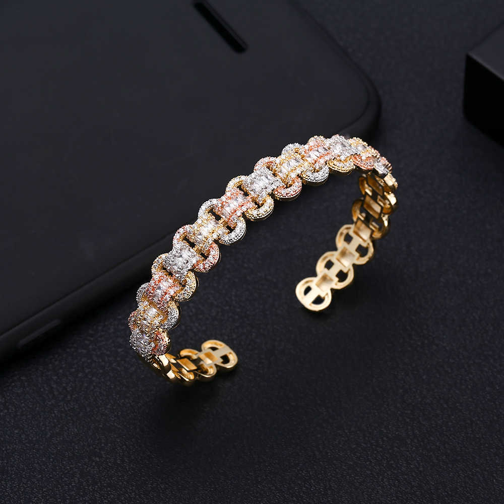 Luxury ที่ไม่ซ้ำกันแอฟริกันสร้อยข้อมือแหวนกำไลชุดเครื่องประดับชุดผู้หญิงงานแต่งงาน Cubic Zircon คริสตัล CZ ดูไบเครื่องประดับชุดเจ้าสาว