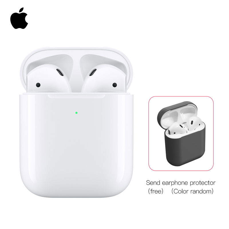 <font><b>Apple</b></font> <font><b>AirPods</b></font> with Wireless Charging Case,Wireless bluetooth headset ,portable image