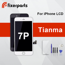 1 pçs tianma lcd para iphone 7p display touch screen substituição digitador assembléia completa para iphone 7p lcd com dom gratuito