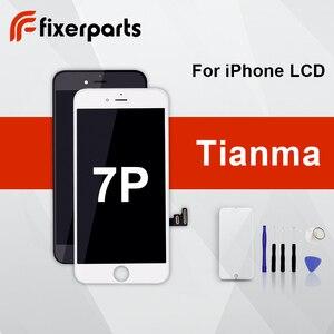 Image 1 - 1pcs Tianma LCD עבור iphone 7P תצוגת מסך מגע Digitizer החלפת הרכבה מלאה עבור iphone 7p lcd עם משלוח מתנה