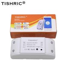 TISHRIC – interrupteur lumineux Wifi Basic Intelligent, 220V, module domotique, Compatible avec Alexa et Google Home