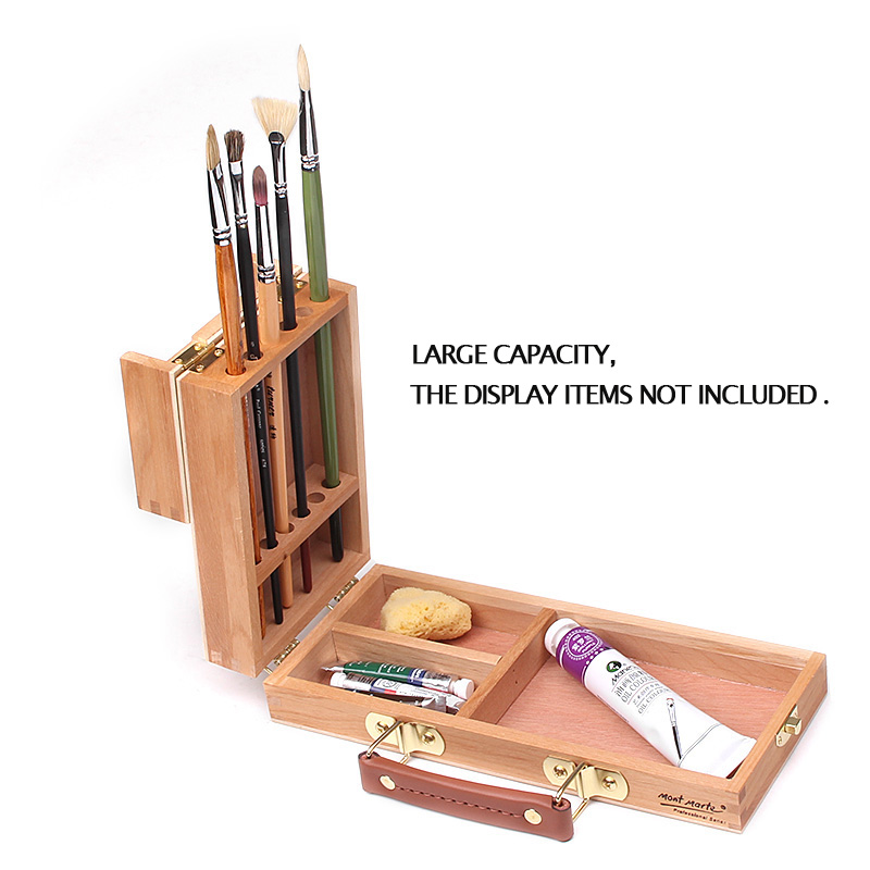 Portable Sketch Easel Painting Box Wooden Easel For Drawing Oil Paint Laptop Accessories Painting Art Supplies For Artist Child