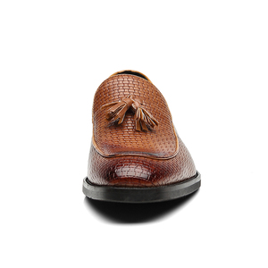 Image 4 - 37 48 גברים נעליים מזדמנים מוקסינים עור מותג נוח קלאסי יוקרה אלגנטי אופנה בתוספת גודל לנשימה לופרס גברים # b02