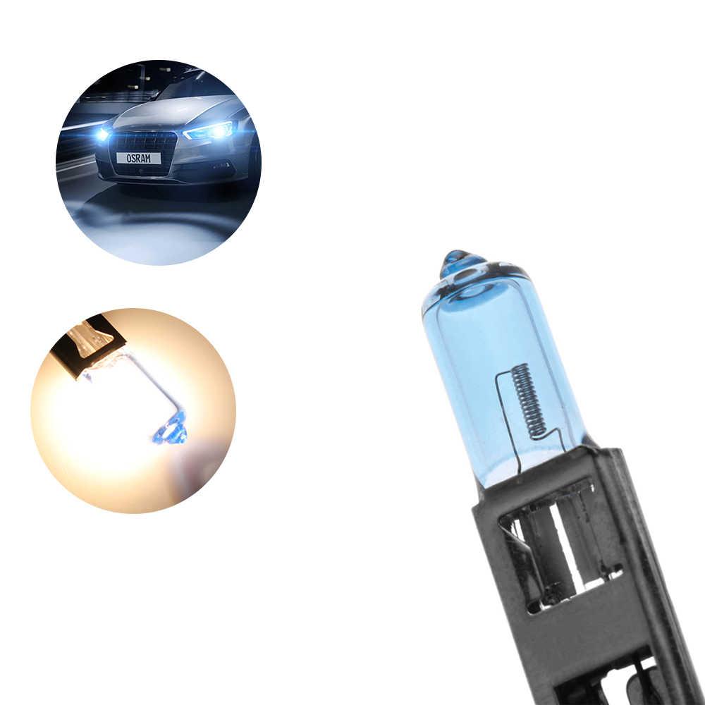 Hot 1PC H1 12V 100W Headlight Kabut Lampu Lampu Bohlam Putih 6000K Xenon Halogen Super Terang bohlam Pengganti Modifikasi