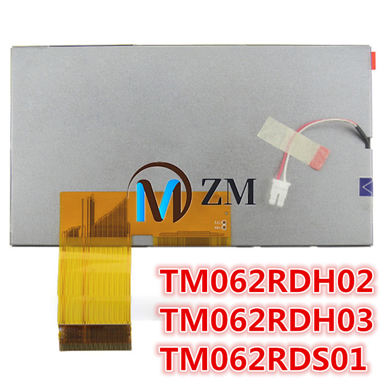 6.2 Inch 60 Pin LCD Screen TM062RDH02 TM062RDH03 TM062RDS01 Vehicle DVD Navigation Display