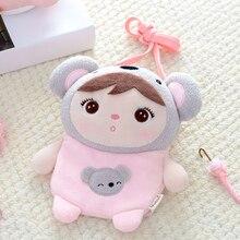 Coin-Purse Doll Stuffed-Toys Plush-Animals Girls Koala Metoo Crossbody-Bag Kids Children