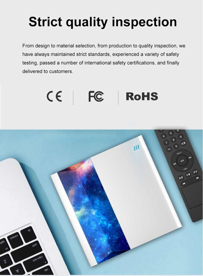 Deepfox Brand New External DVD Drive support Connecting TV Remote Control with USB 3.0 and Type C interface