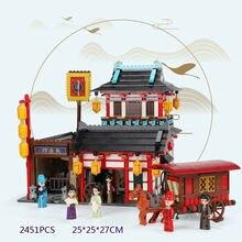 Ведущая архитектура городская улица вид chinatown магазин карет