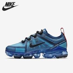 Nike air VaporMax 2019 спортивная обувь для мужчин уличные кроссовки легкие дышащие AR6631 400