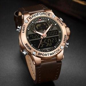 Image 2 - Naviforce 男性の腕時計 2019 ブランドの高級デュアルディスプレイメンズビジネス男性腕時計メンズ腕時計メンズ腕時計トップブランドの高級