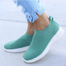 Women Shoes Knitting Sock Sneakers Women