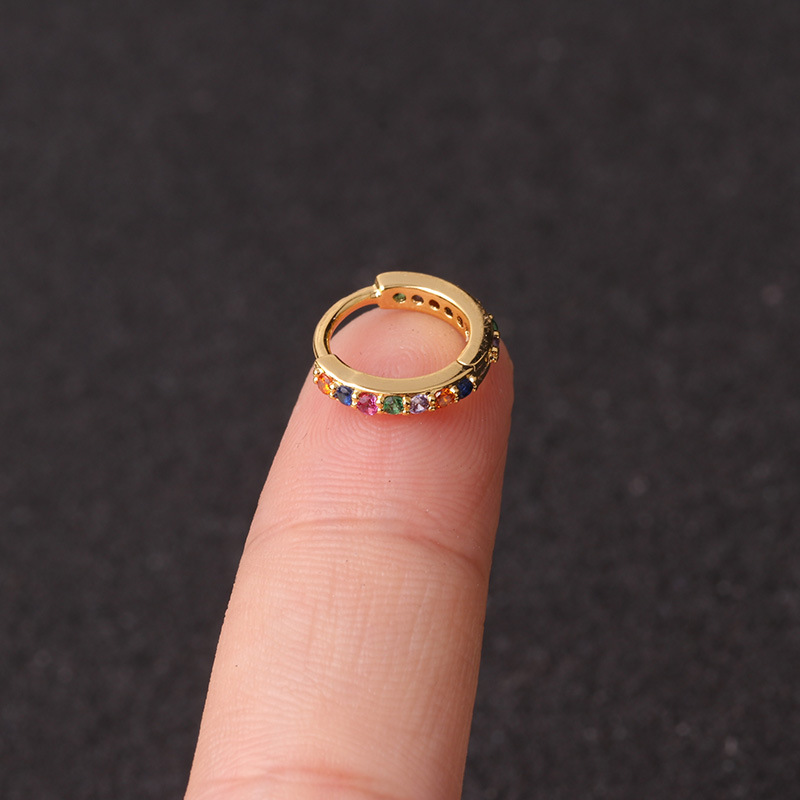 gold colorful 8mm