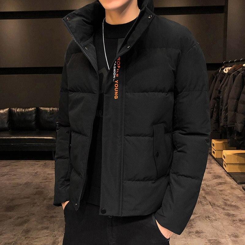 Стеганая одежда, новинка зимы 2020, Корейская свободная стеганая куртка, Утепленная зимняя одежда, зимнее пальто, модный бренд|Парки| | АлиЭкспресс
